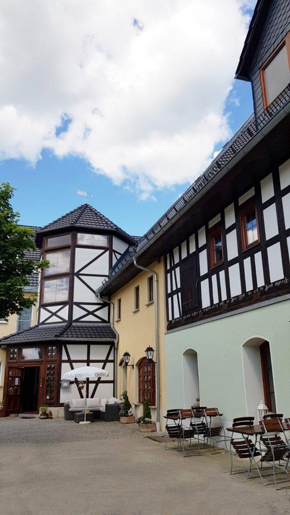 Landpension Am Silberberg, Hof, Rezeption