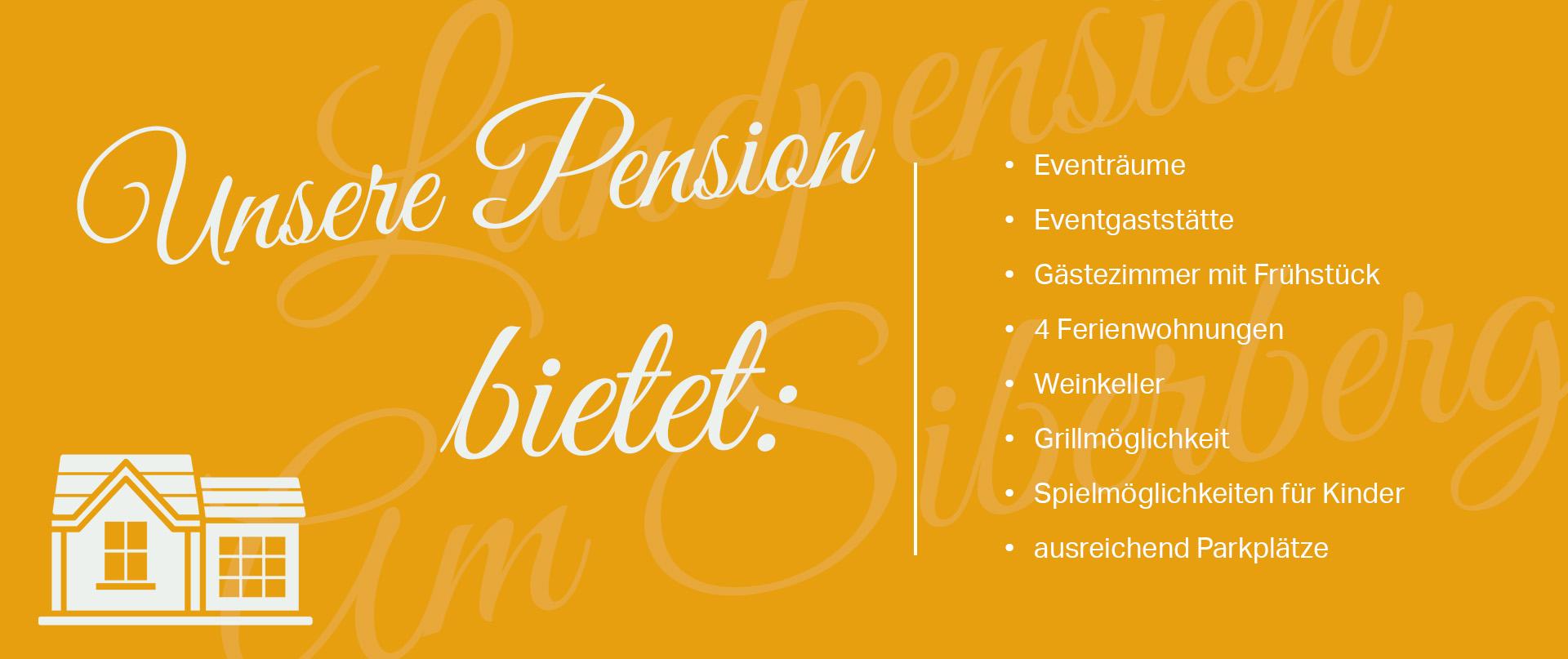 Pension in der Landpension Am Silberberg